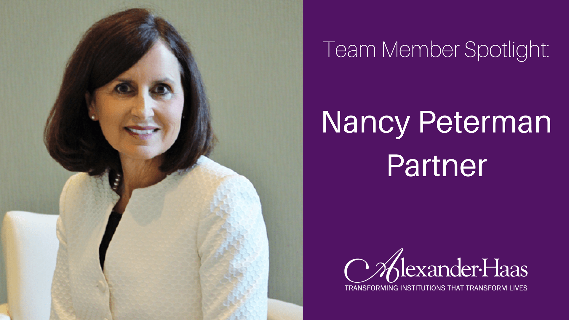 nancy peterman spotlight
