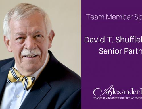Team Member Spotlight: David T. Shufflebarger