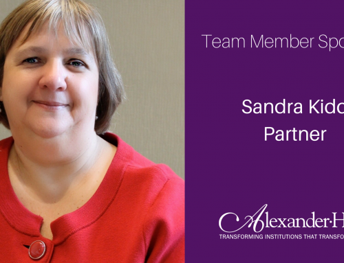 Team Member Spotlight: Sandra Kidd
