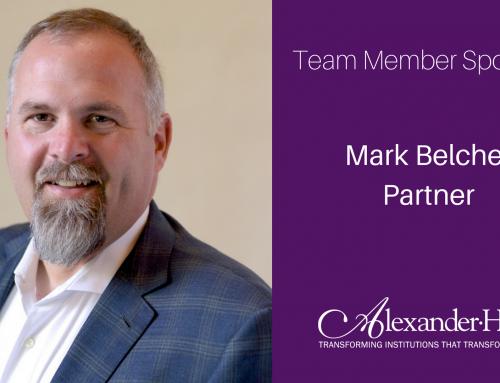 Team Member Spotlight: Mark Belcher