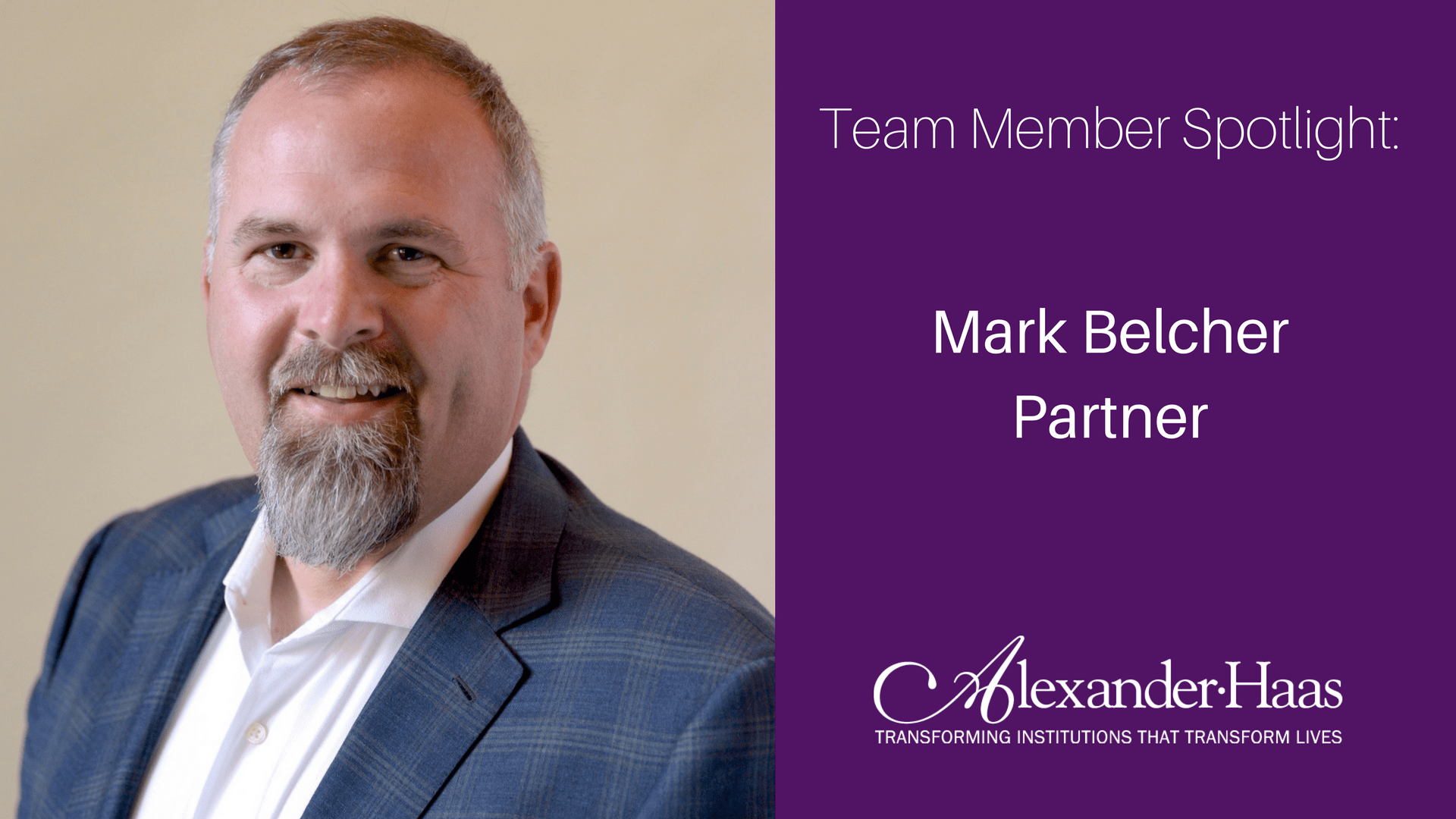 Fundraising Experts Team Member Spotlight: Mark Belcher