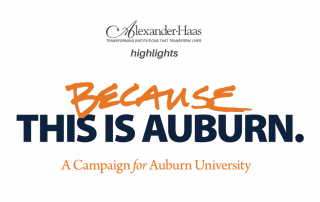"""Fundraising Client Highlight: """"Because This is Auburn"""" Campaign"""