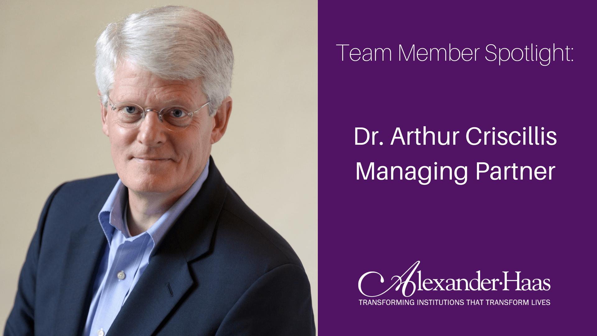Fundraising Experts: Team Member Spotlight: Arthur Criscillis