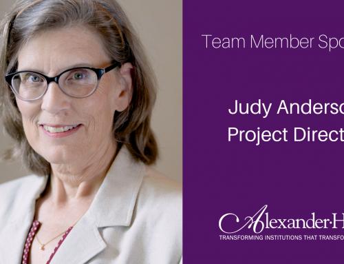 Team Member Spotlight: Judy Anderson