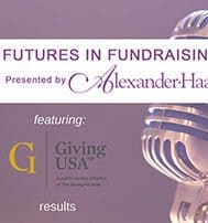 Giving USA 2018 Results - Futures in Fundraising presented by Alexander Haas